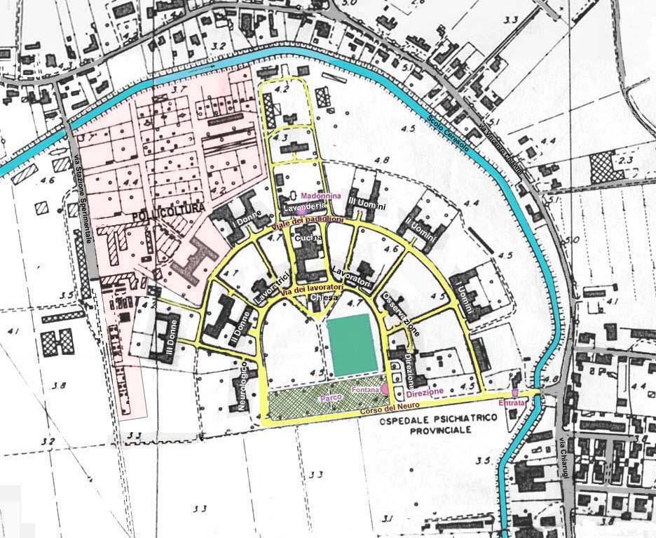La mappa dell isola del manicomio di granzette redazione for Piani del centro di intrattenimento della fattoria